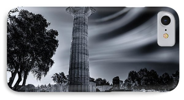 IPhone Case featuring the photograph Ruins Of Zeus's Temple At Olympia by Micah Goff