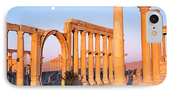 Ruins, Palmyra, Syria IPhone Case by Panoramic Images