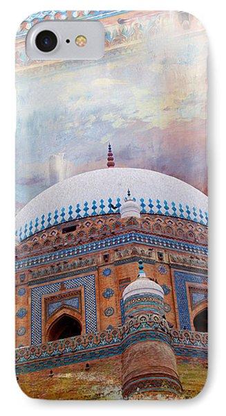 Rukh E Alam IPhone Case by Catf