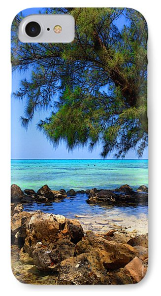 Rum Point Cove IPhone Case