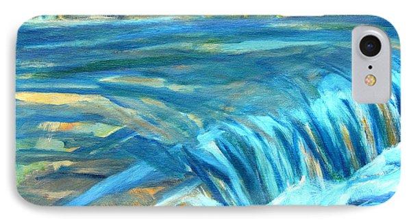 Run River Run Over Rocks In The Sun IPhone Case by Betty Pieper