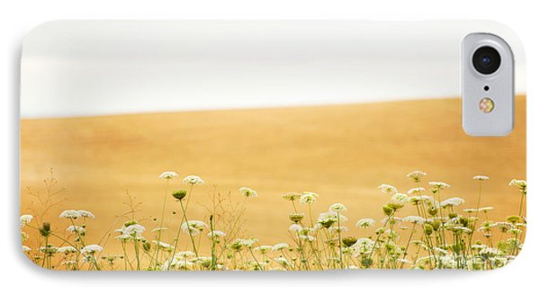 Run With Me Through A Field Of Wild Flowers IPhone Case by Artist and Photographer Laura Wrede