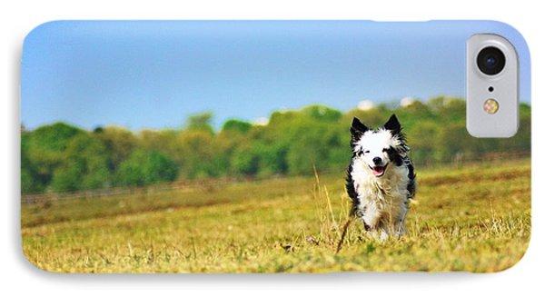 Running Dog IPhone Case by Daniel Precht