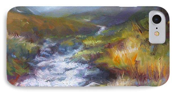 Running Down - Landscape View From Hatcher Pass Phone Case by Talya Johnson