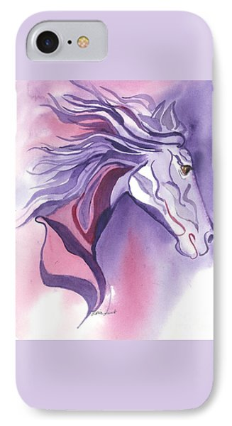 Running Free IPhone Case by Maria Hunt