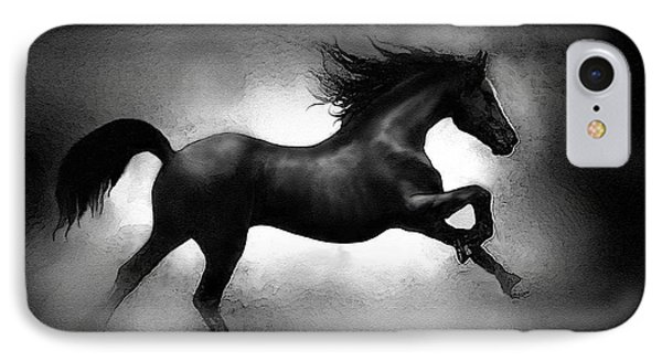 Running Horse IPhone Case by Robert Foster