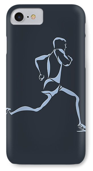 Running Runner12 IPhone Case by Joe Hamilton
