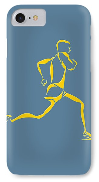 Running Runner13 IPhone Case by Joe Hamilton