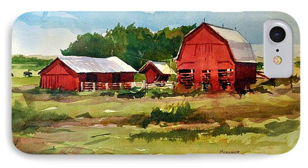 Rural Barns Phone Case by Spencer Meagher