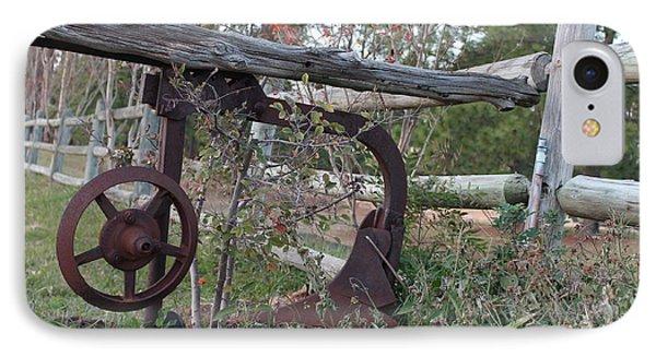 Rural Fence Post Phone Case by Lorri Crossno