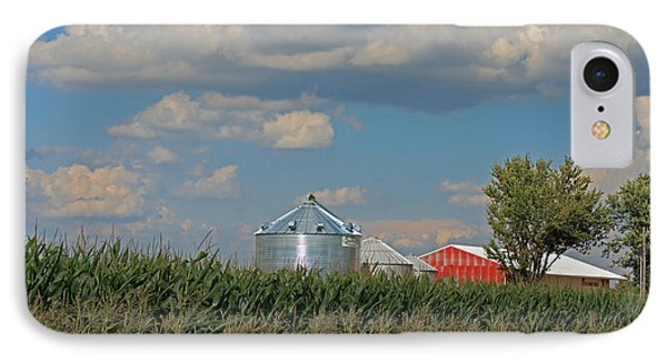 Rural Indiana Scene - Adams County Phone Case by Suzanne Gaff