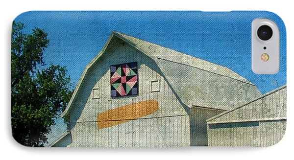 Rural Iowa Barn Phone Case by Cassie Peters