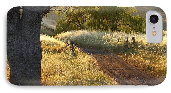 Rural Road 2am-009691 IPhone Case by Andrew McInnes