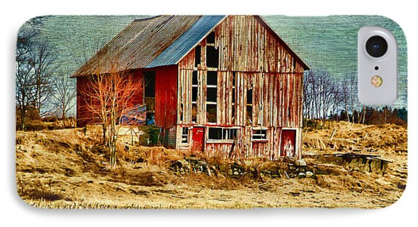 Rural Rustic Vermont Scene IPhone Case by Deborah Benoit