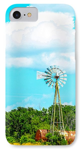 Rural Texas IPhone Case