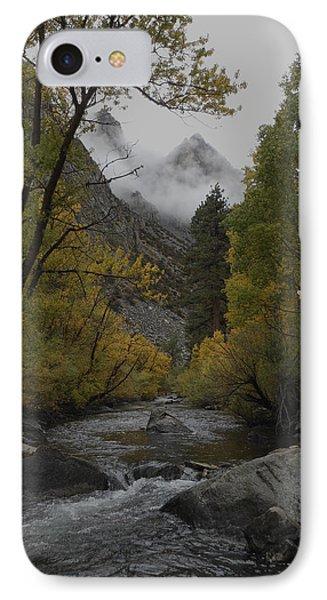 Rush Creek Aspen Trees Aerie Crag IPhone Case