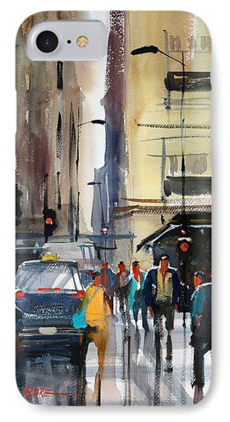 Rush Hour 2 - Chicago IPhone Case by Ryan Radke