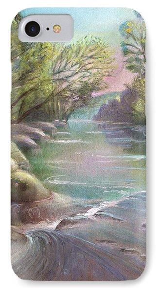 Rushing Creek Gatlinburg Tennessee IPhone Case by Kathleen Bonadonna
