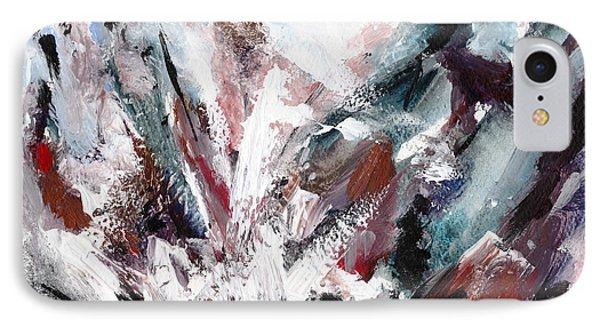 Rushing Down The Cliff Phone Case by Lidija Ivanek - SiLa