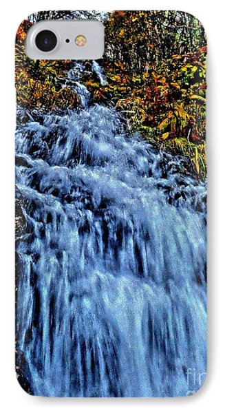 IPhone Case featuring the photograph Rushing Falls by Andy Heavens