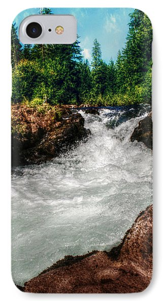 Rushing Rogue Gorge Phone Case by Melanie Lankford Photography