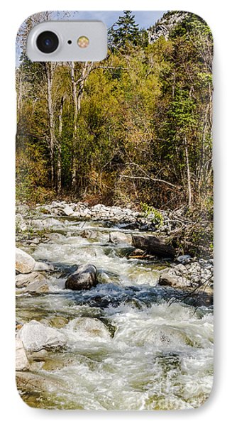 Rushing Water Phone Case by Sue Smith
