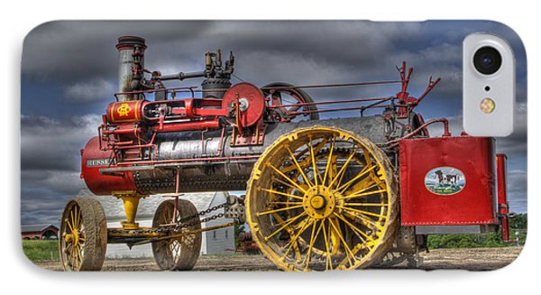 Russell Steam IPhone Case by Shelly Gunderson