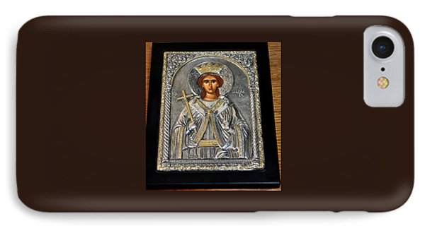 Russian Byzantin Icon IPhone Case by Jay Milo