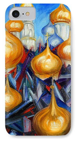 Russian Domes IPhone Case by Helen Kagan