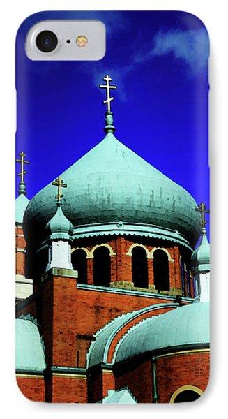 Russian Orthodox Church Phone Case by Karol Livote