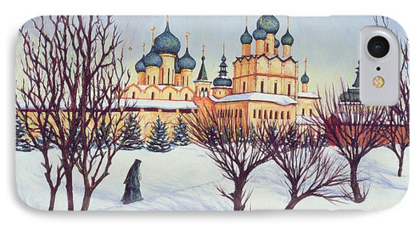 Russian Winter IPhone Case by Tilly Willis