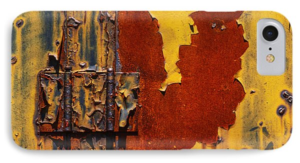 Rust Abstract Phone Case by Jack Zulli