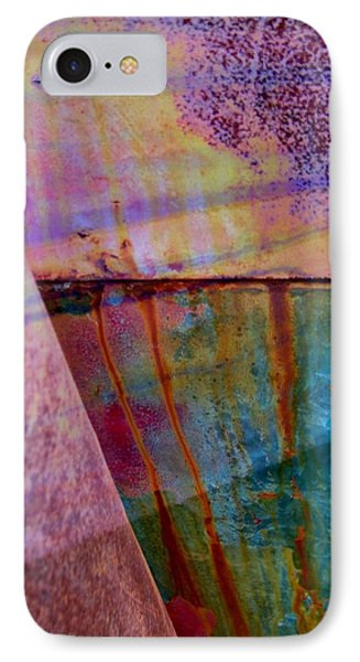 Rust And Paint Phone Case by Shirley Sirois