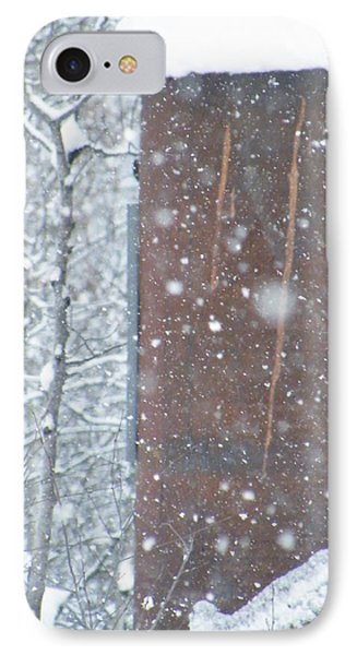 Rust Not Sleeping In The Snow IPhone Case by Brian Boyle