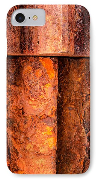 Rusted Gears  IPhone Case by Jim Hughes