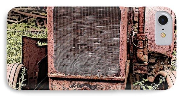 Rusted Mc Cormick-deering Tractor IPhone Case