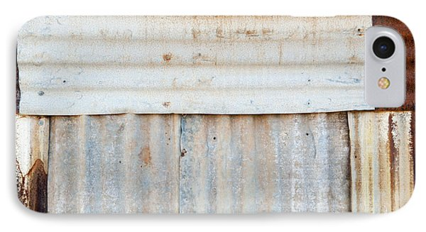 Rusted Metal Background Phone Case by Tim Hester