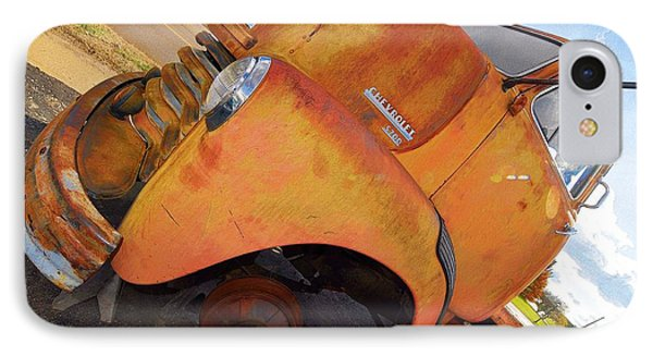 Rusted Out Chevrolet 5700 Phone Case by Liane Wright
