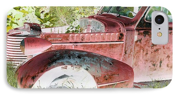 Rusted Truck 4 Phone Case by Dietrich ralph  Katz
