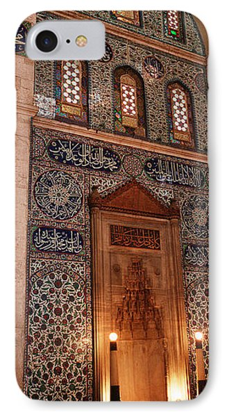 Rustem Pasa Mosque Istanbul Turkey IPhone Case