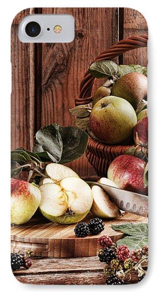 Rustic Apples IPhone Case by Amanda Elwell