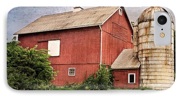 Rustic Barn IPhone 7 Case by Bill Wakeley