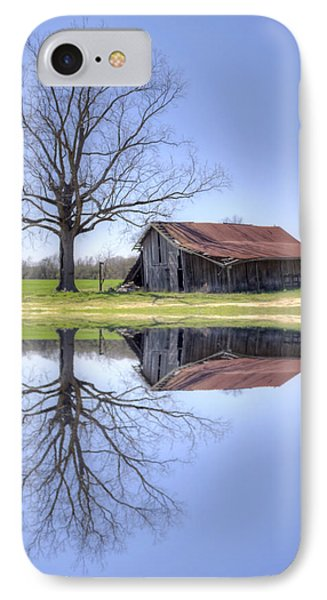 Rustic Barn IPhone Case by David Troxel