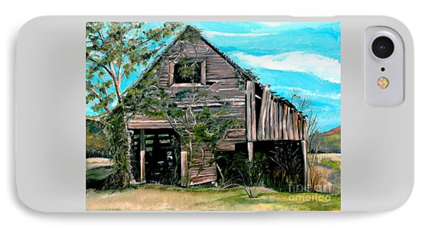 Rustic Barn - Mooresburg - Tennessee IPhone Case by Jan Dappen