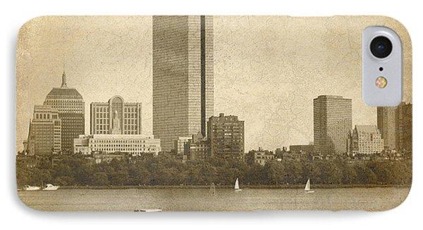 Rustic Boston IPhone Case by Jayne Carney