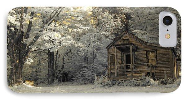 Rustic Cabin IPhone Case by Luke Moore