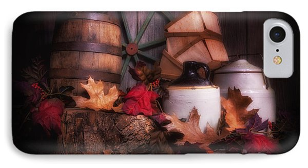 Rustic Fall Still Life IPhone Case by Tom Mc Nemar