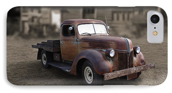 IPhone Case featuring the photograph Rustic Ford Truck by Keith Hawley