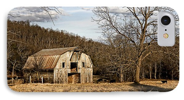 IPhone Case featuring the photograph Rustic Hay Barn by Robert Camp