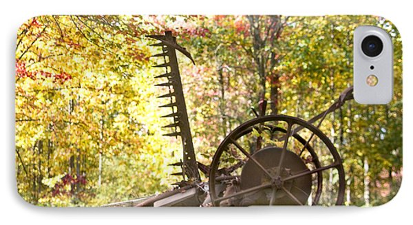 IPhone Case featuring the photograph Rustic Hay Cutter by Robert Camp